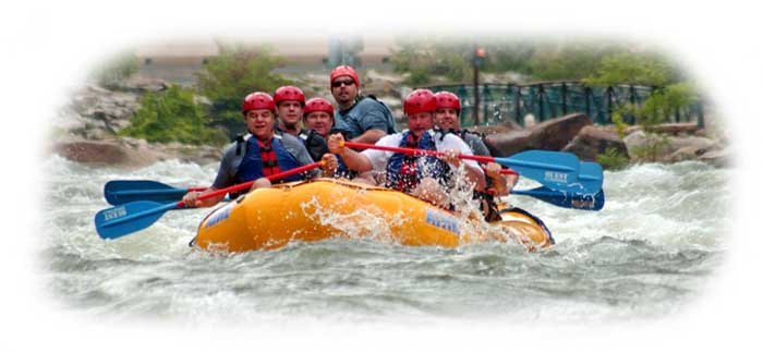 Rafting the Olympic Course