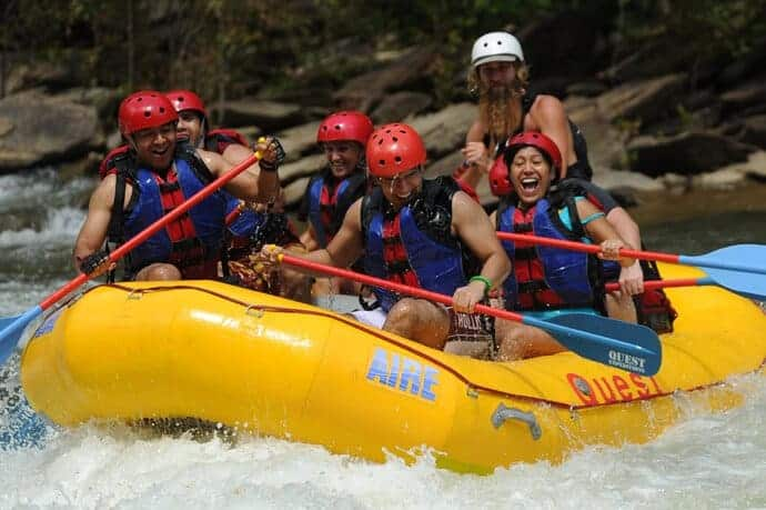 Fun on The River Whitewater Rafting