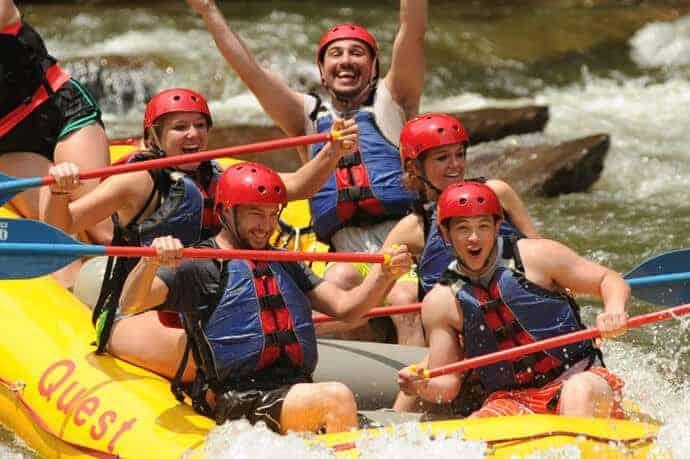 Fun Ocoee Rafting Trip