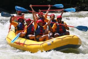 Rafting with Quest Expeditions