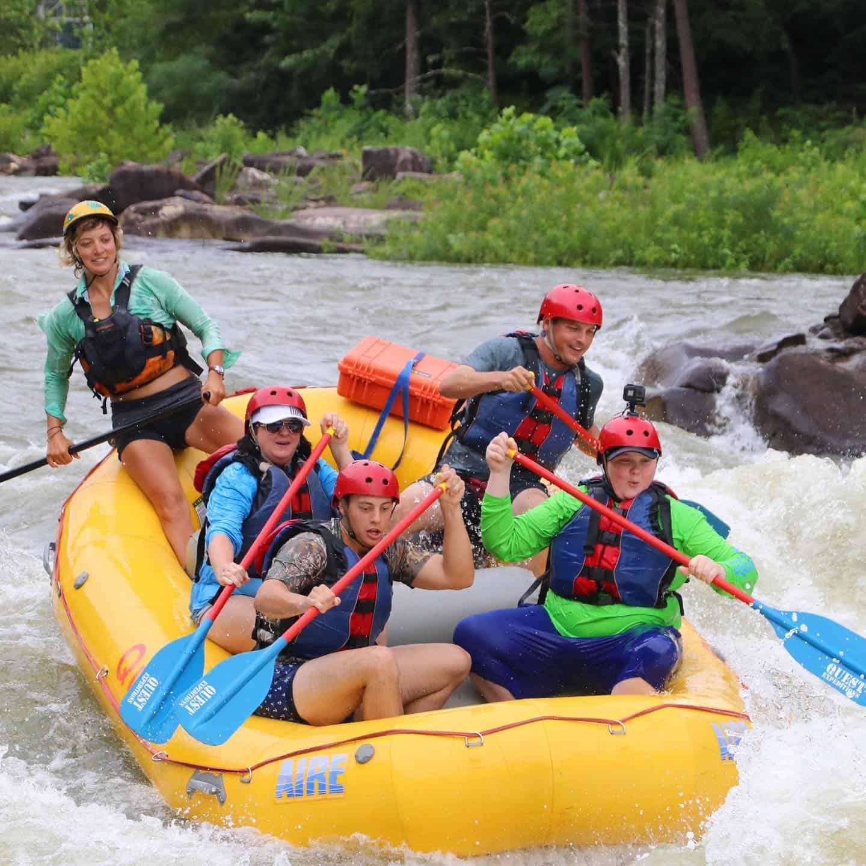 white water rafting ocoee