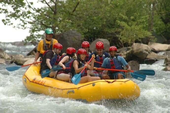 ocoee white water rafting