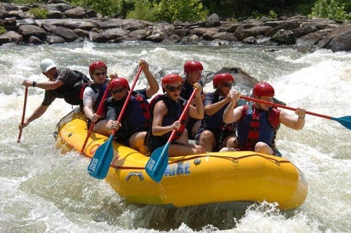 upper river trip ocoee