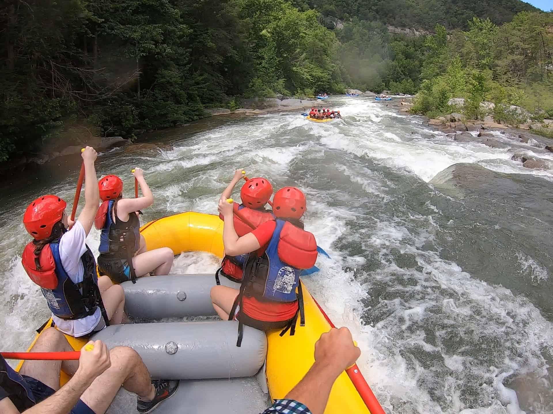 rafying ocoee river tn