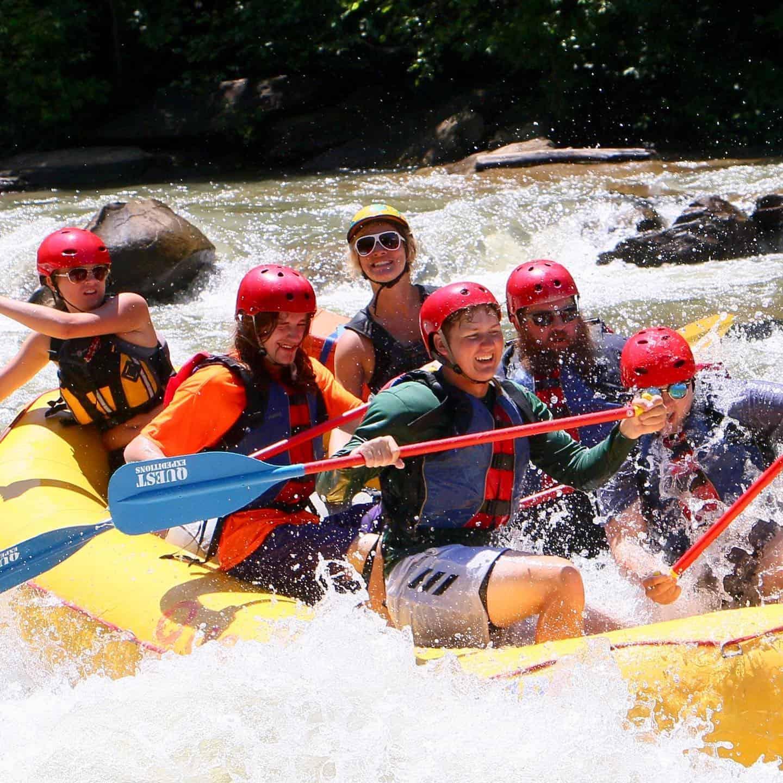 ocoee river tn rafting